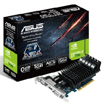 ASUS PCI E NVIDIA GEFORCE GT 730 2048MB DDR3 RETAIL