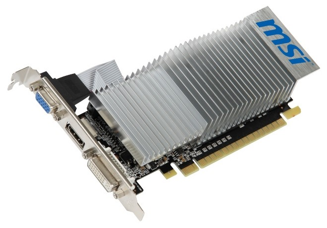 MSI GEFORCE 210 589MHZ PCI E 2 0 512MB 1000MHZ